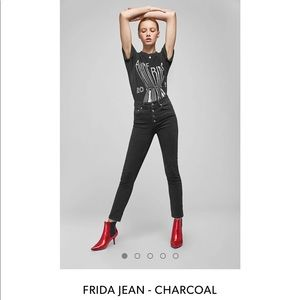 ANINE BING Frida Jeans - Charcoal